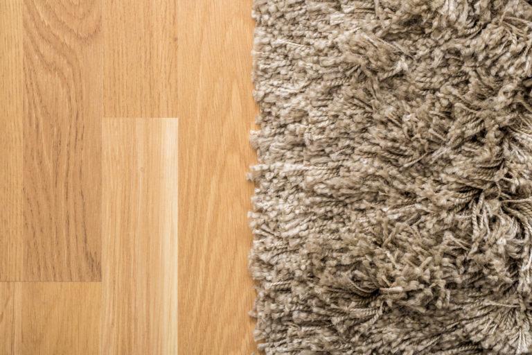 carpet on floor