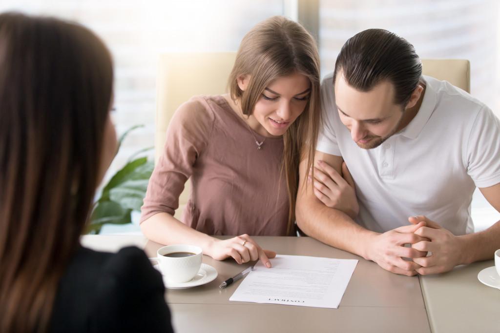 discussing rent